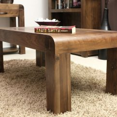 Walnut Furniture Living Room Decorating A Wall Strathmore Solid Home Coffee Details About Table