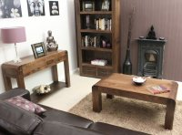 Axiom Walnut Living Room Set