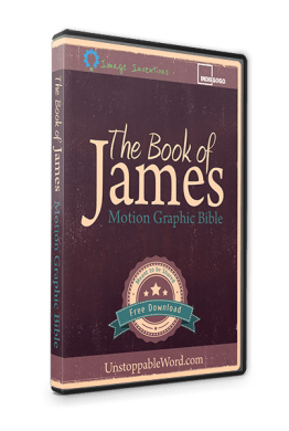 The Book of James: Motion Graphics graphic