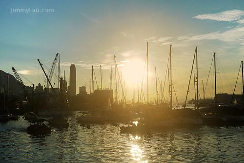 銅鑼灣避風塘的日落 - 香港好去處 | 香港攝影景點 - ImageJoy