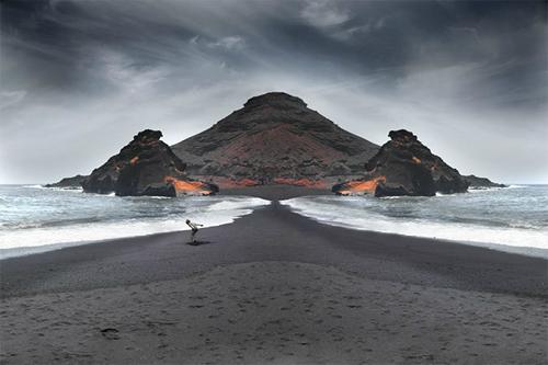 超現實的不對稱鏡像風景 - 攝影入門教學 - ImageJoy