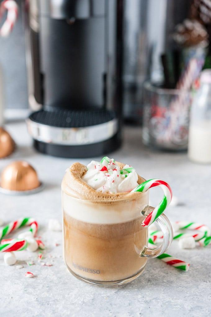 Peppermint Marshmallow Latte