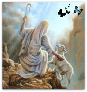 jesus salvando una oveja