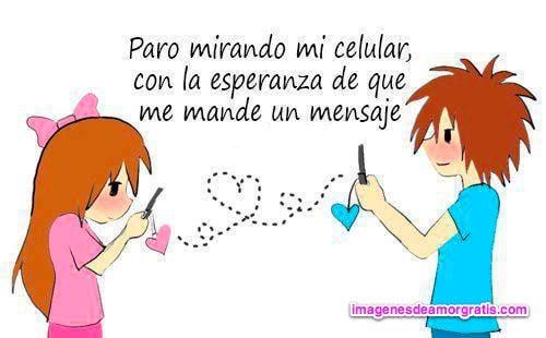 imagenes de amor mensajes en el celular