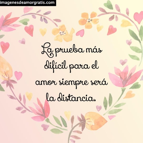frases amor distancia