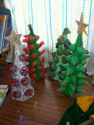 Arboles de Navidad Manualidades IV (15)