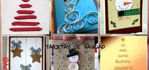 Collage Tarjetas Navidad