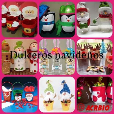 Dulceros navideños collage