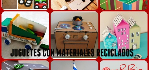 Bonitos y divertidos muebles infantiles con materiales reciclados