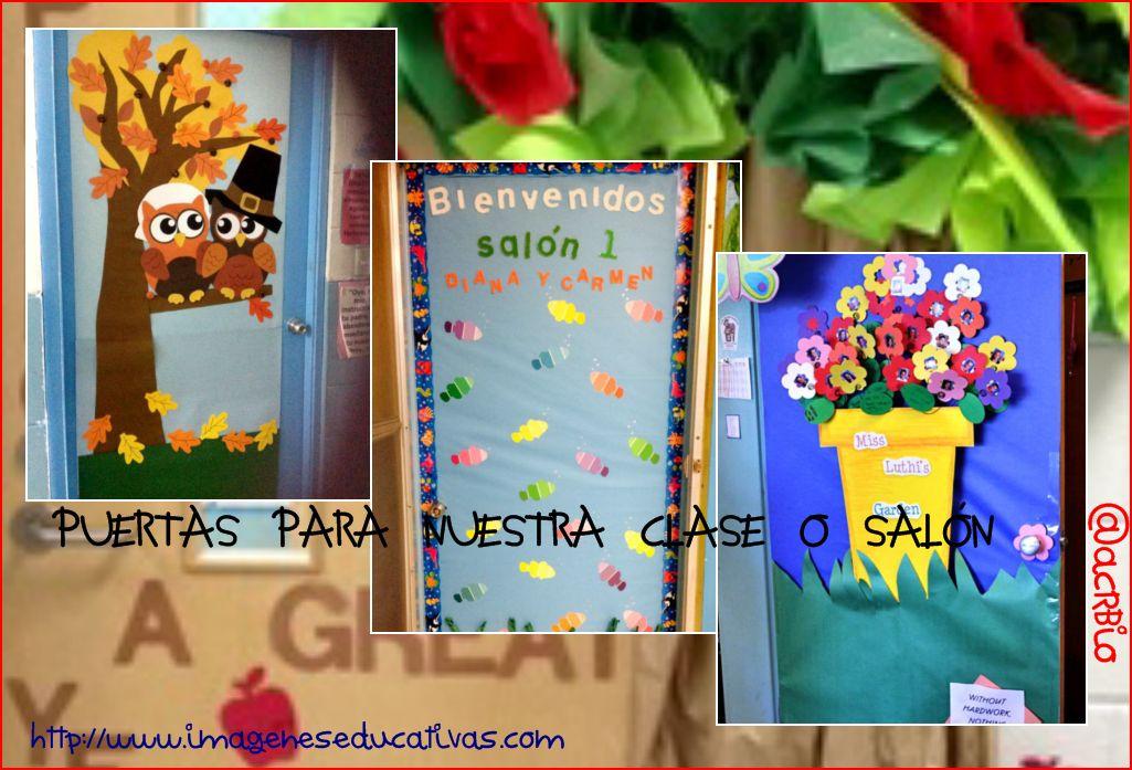 Puertas para nuestra clase o sal n ideas para decorar for Puertas decoradas para el 10 de mayo
