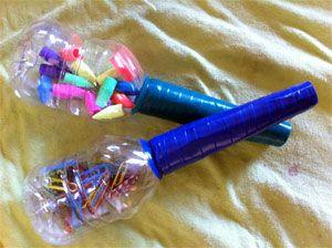 Construye instrumentos musicales con materiales reciclados - C0m0 hacer manualidades ...