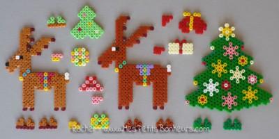 manualidades navideñas con hama (12)