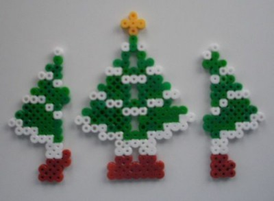 manualidades navideñas con hama (8)