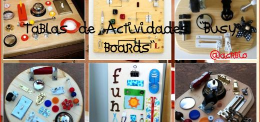Busy Board Collage