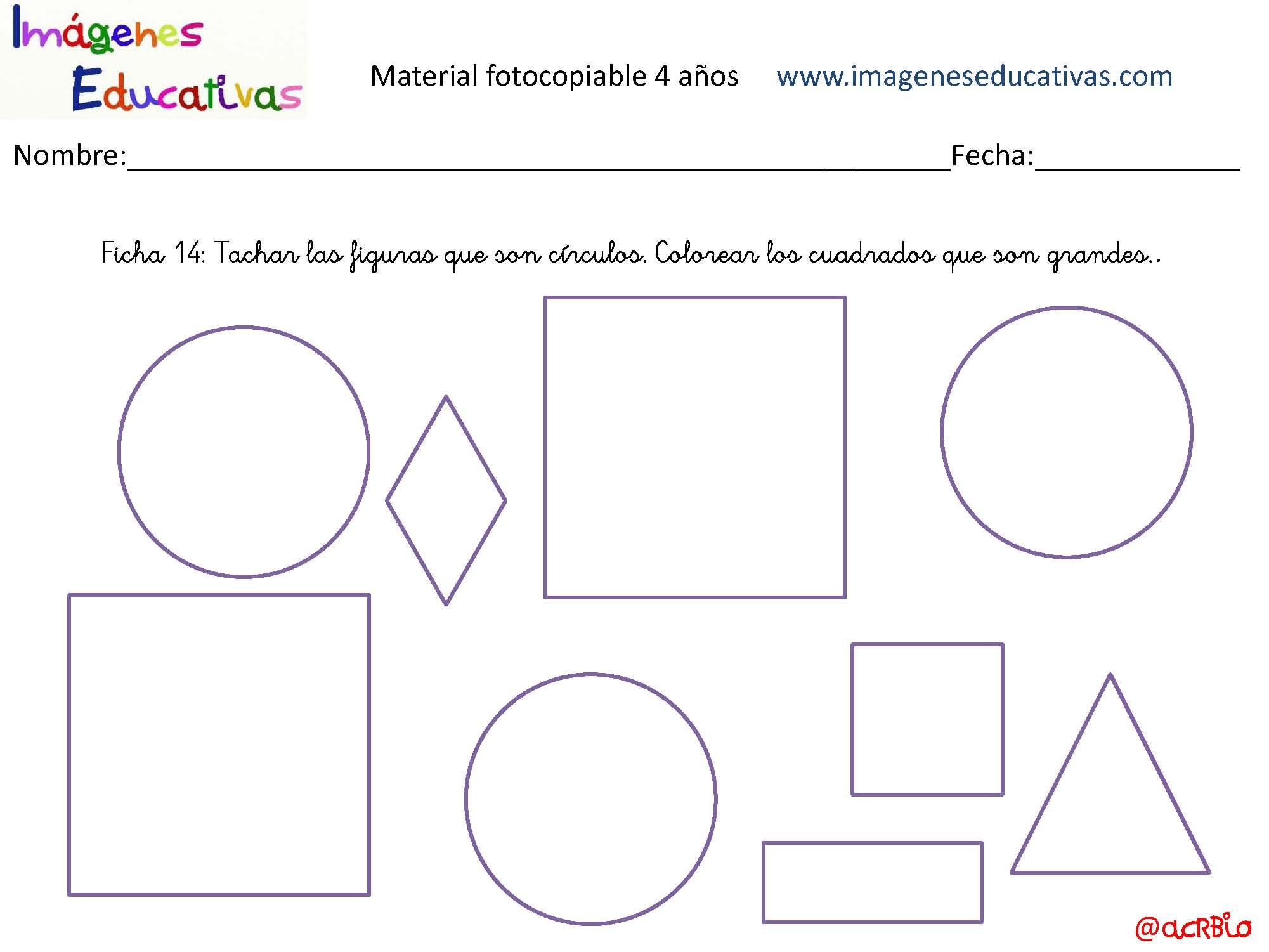 Cuadernillo 40 Actividades Eduacion Preescolar 4 Anos