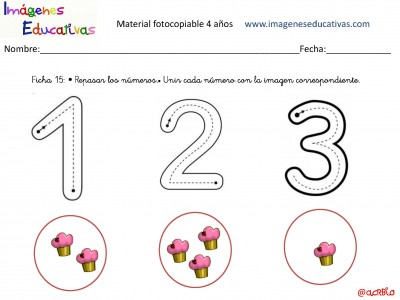Cuadernillo De 40 Actividades Para 4 Años Educación Preescolar