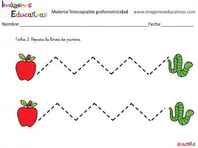 Cuaderno para trabajar la grafomotricidad en infantil y primaria