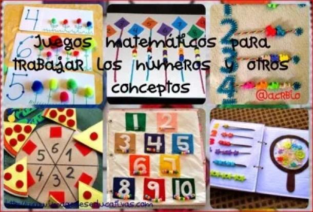 Juegos matemáticos para trabajar los números y otros conceptos ...