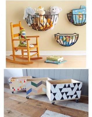 Bonitos y divertidos muebles infantiles con materiales