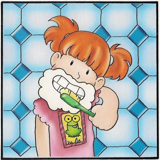 Trabajamos la higiene personal de ni os y ni as en imagenes for Imagenes de utiles de aseo