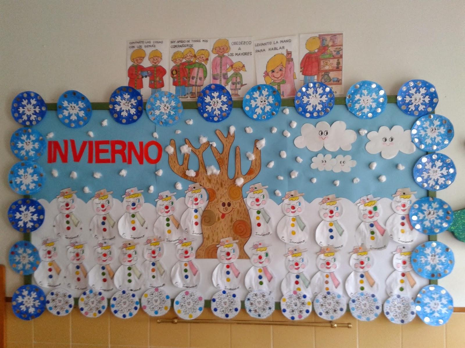 Invierno 20 imagenes educativas for Manualidades decoracion infantil