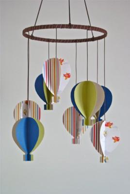 movil de globos