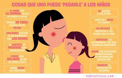 Los padres somos el espejo de nuestros niños y niñas