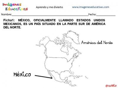 Cuaderno para trabajar México, aprendemos coloreando.