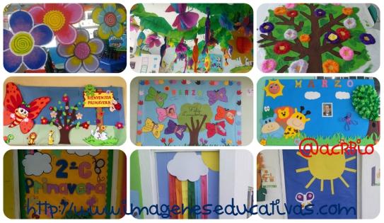 ideas para decorar el aula en primavera vuestras en facebook