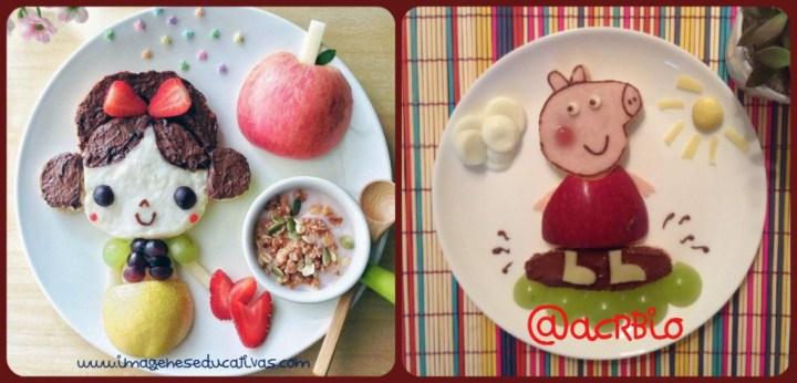 Comida creativa para niños (1) Collaje