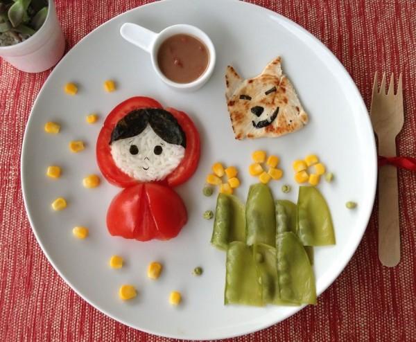 Comida creativa para niños  (5)