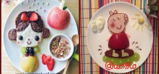 Comida creativa para niños Portada