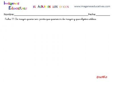 Cuadernillo de trabajo Álbum de los oficios (12)