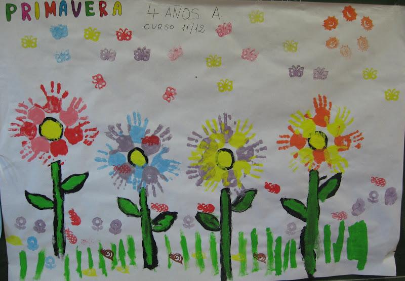 Murales primavera 2 imagenes educativas for Murales infantiles para preescolar