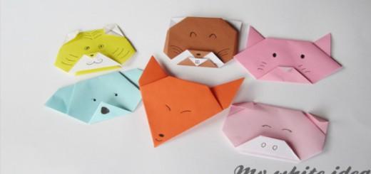 Origami caras de Animales Portada