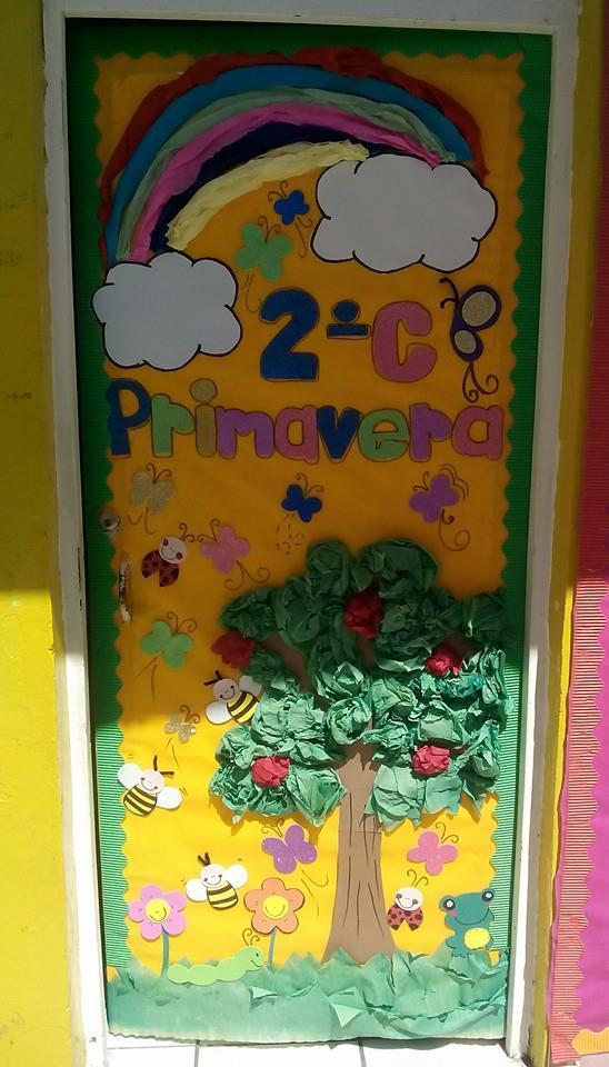 Puertas primavera 3 imagenes educativas for Decoracion aula primaria