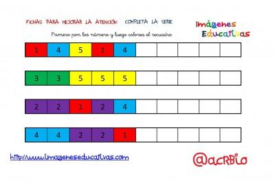 SERIES NUMÉRICAS CON COLORES 1-5 (4)