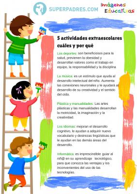 5 actividades extraescolares