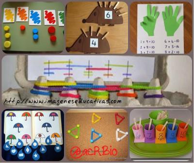 Actividades Matemáticas Collage