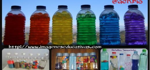 Botellas sensoriales Collage Portada