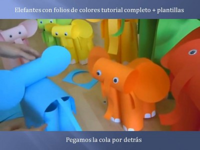 Elefantes con folios de colores tutorial (10)