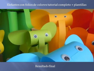 Elefantes con folios de colores tutorial (12)