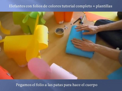 Elefantes con folios de colores tutorial (6)