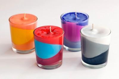 Reciclamos nuestras ceras y crayones para convertirlos en velas decorativas.  (9)