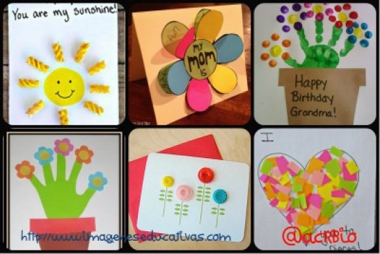 Regalo dia de la Madre Tarjetas Collage 2