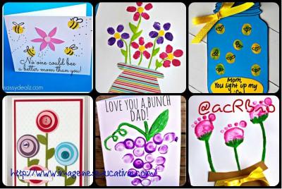 Tarjeta Día de la Madre Collage