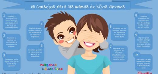 10 Consejos para Mamas de hijos Varones Portada