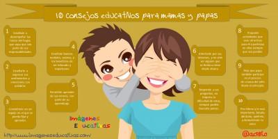 10 consejos educativos para mamas y papas