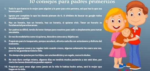 10 consejos para padres primerizo Portada