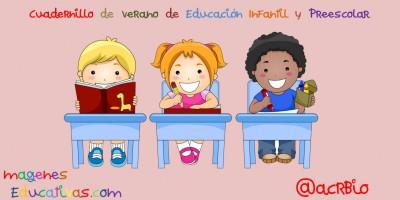 Cuadernillo de verano de Educación Infantil y Preescolar portada
